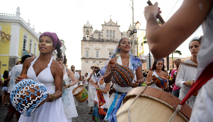 Este ano, a TV Brasil traz flashes ao vivo do Pelourinho, em Salvador. Foto: Silvio Tito (Agecom/Creative Commons).